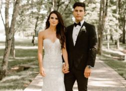 Dan Smyers and Abby Law Share First Wedding Photos