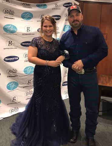 Garth Brooks and Kate; Photo via the Greenroom PR