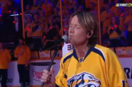 Keith Urban Stuns with NHL Playoffs National Anthem