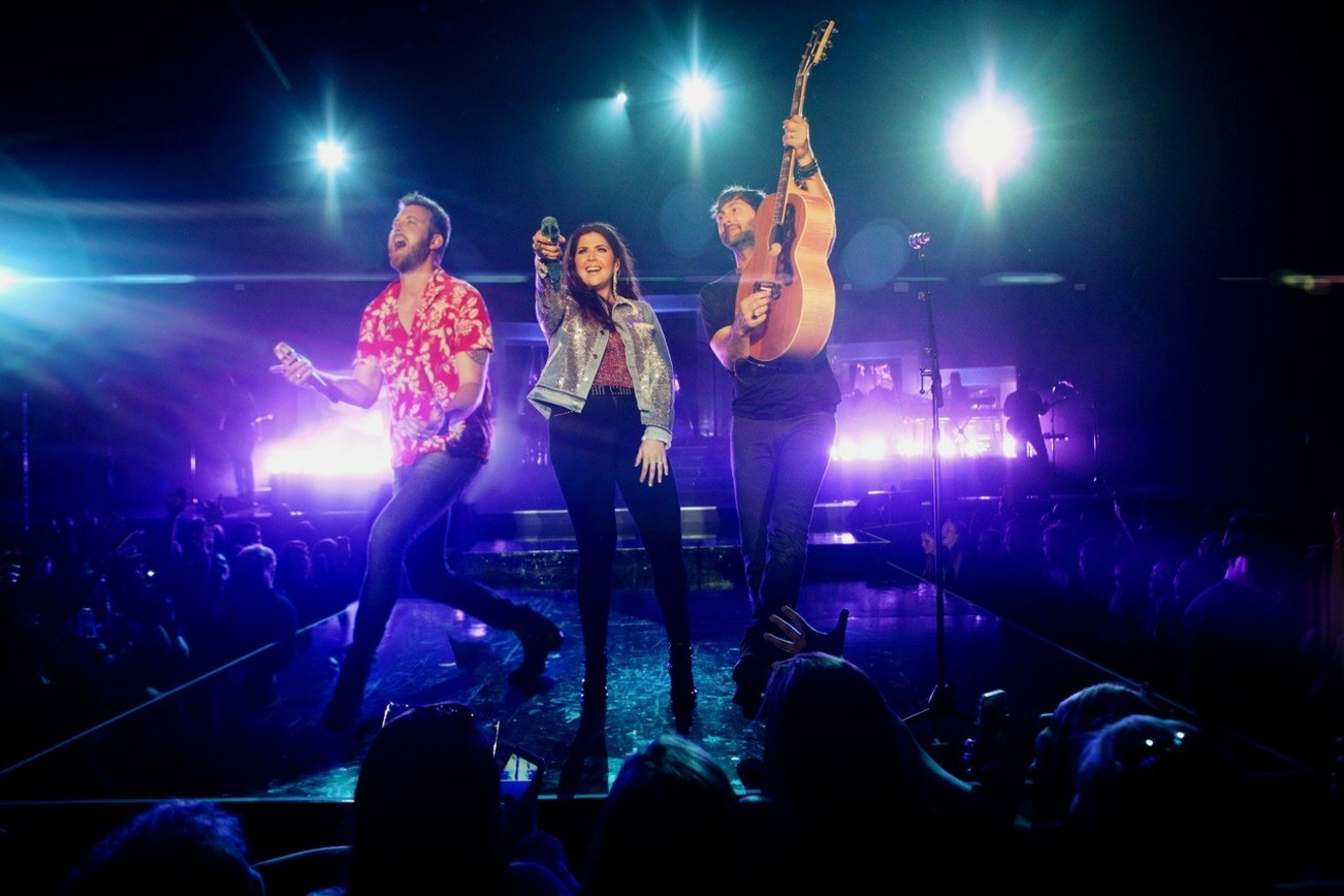 Lady Antebellum on the You Look Good Tour; Photo courtesy Greenroom PR