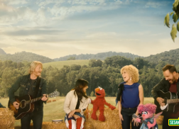 Little Big Town Harmonizes with the Characters of 'Sesame Street'