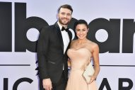 Sam Hunt and Hannah Lee Fowler Make Red Carpet Debut at 2017 Billboard Music Awards