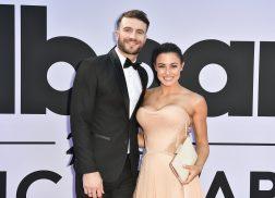 Sam Hunt and Hannah Lee Fowler Make Red Carpet Debut at 2017 Billboard Music Awards