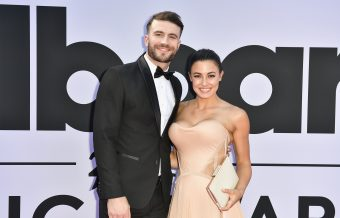 Sam Hunt & Wife Make Red Carpet Debut