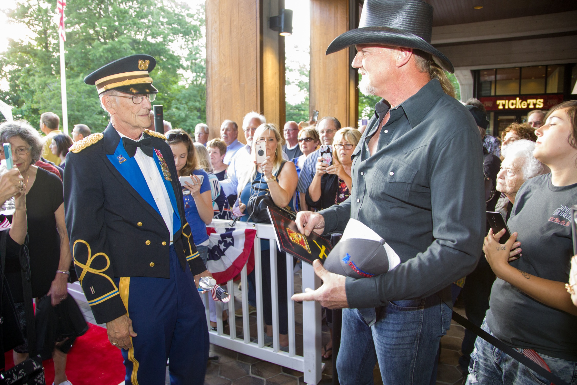 Grand Ole Opry's 'Salute the Troops' Show Has Personal Meaning for Country Stars
