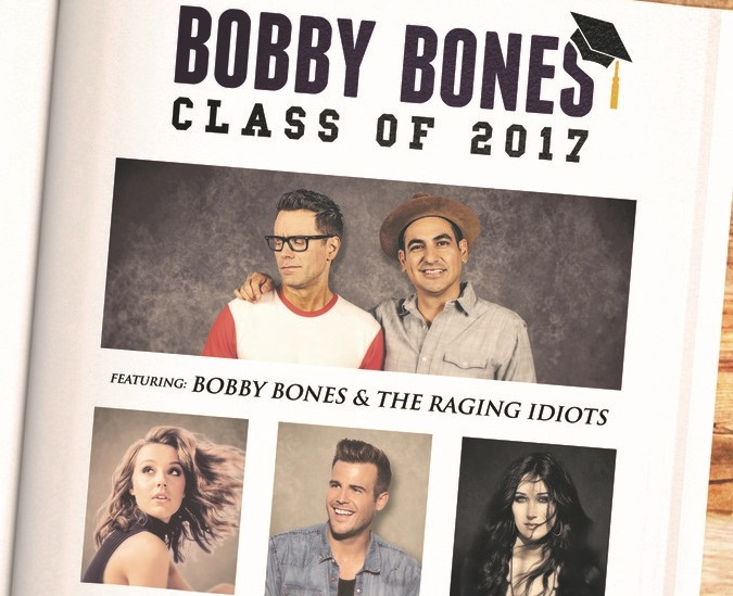 Bobby Bones Announces 'Class of 2017′ Tour with Bailey Bryan, Aubrie Sellers & Jackie Lee