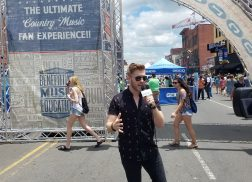 Brandon Ray Plays 'Never Have I Ever' With Country Fans at CMA Fest
