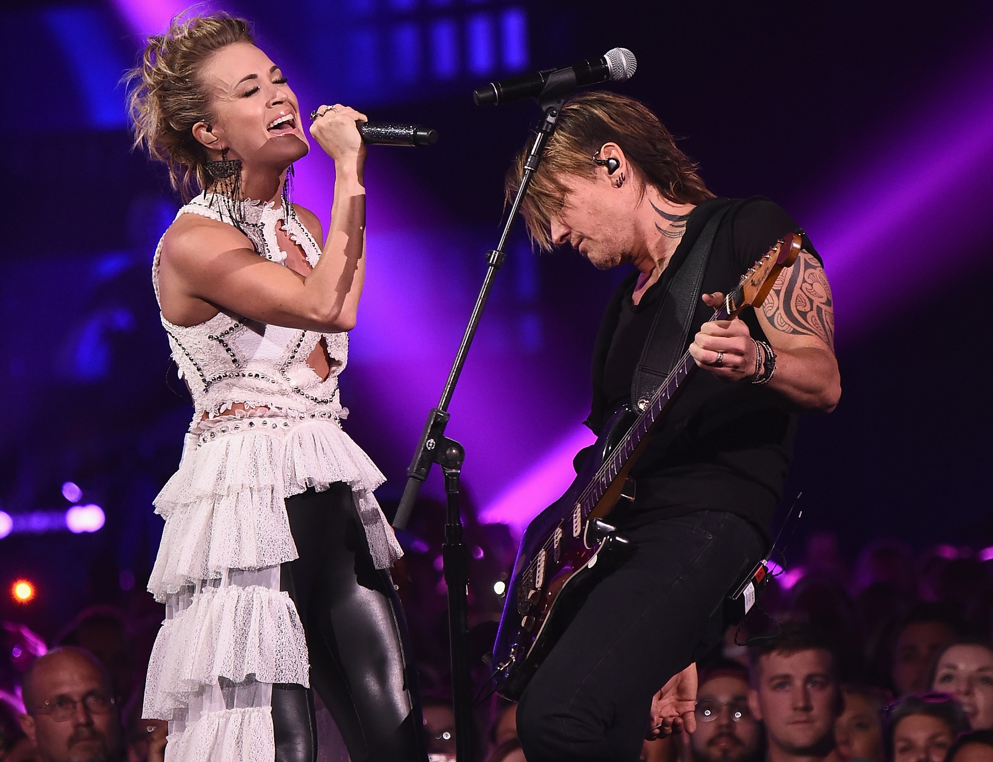Keith Urban and Carrie Underwood Battle Their Way to No.1 With 'The Fighter'