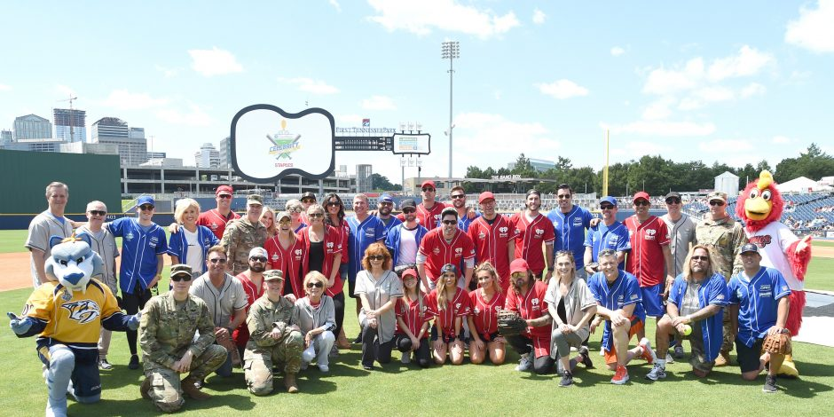 Country Stars Take to the Field for 2017 City of Hope Softball Game