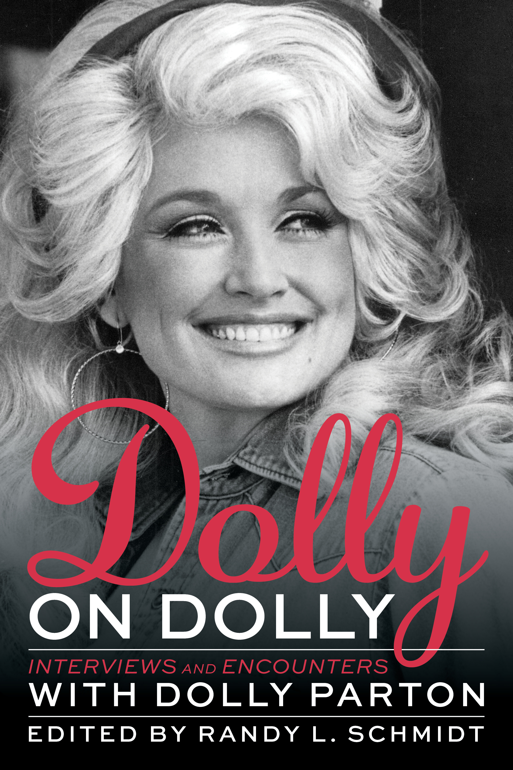 Dolly on Dolly: Interviews and Encounters with Dolly Parton book cover; Cover art courtesy Chicago Review Press