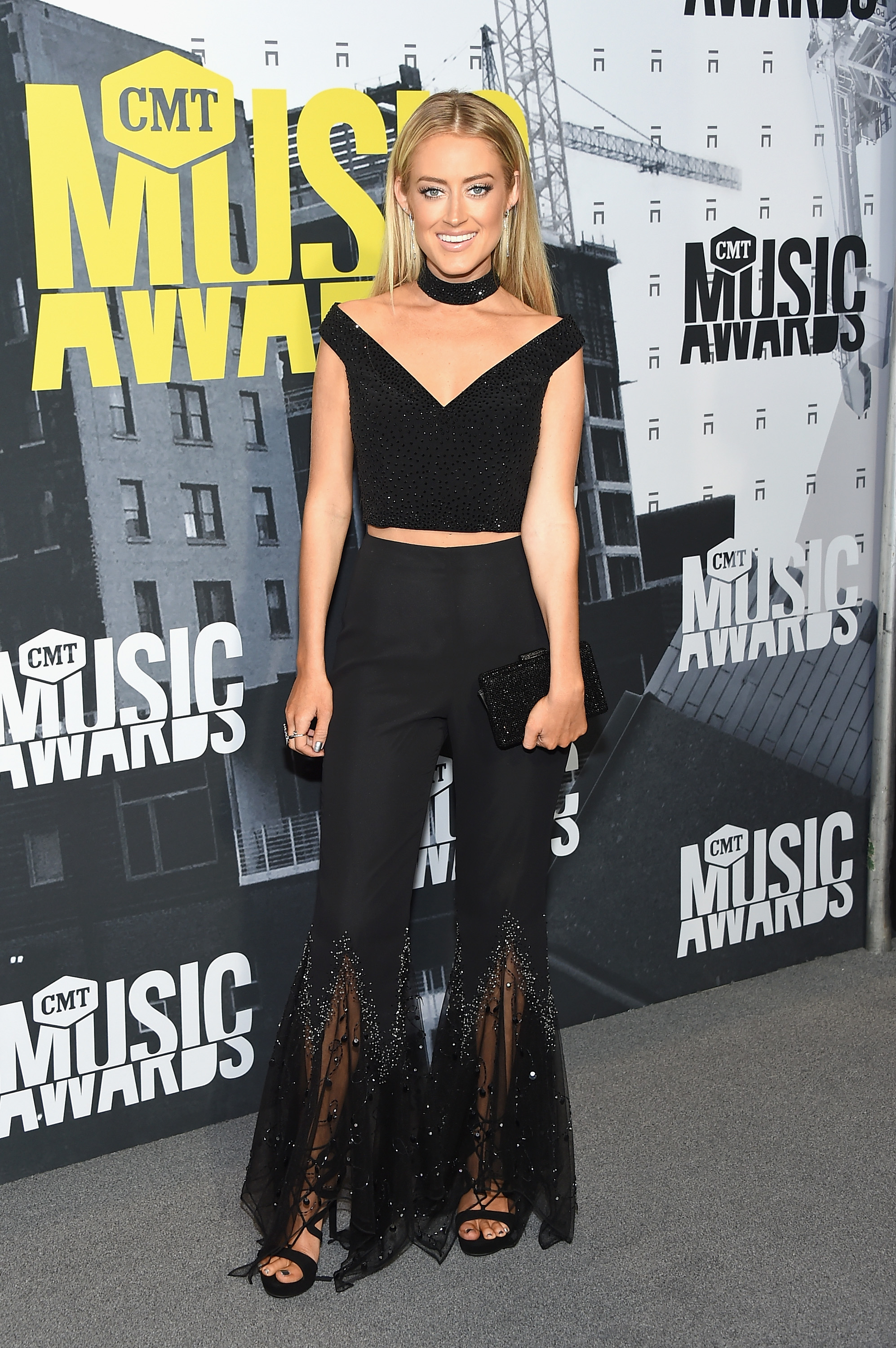 NASHVILLE, TN - JUNE 07: Singer Brooke Eden attends the 2017 CMT Music Awards at the Music City Center on June 7, 2017 in Nashville, Tennessee. (Photo by Michael Loccisano/Getty Images For CMT)