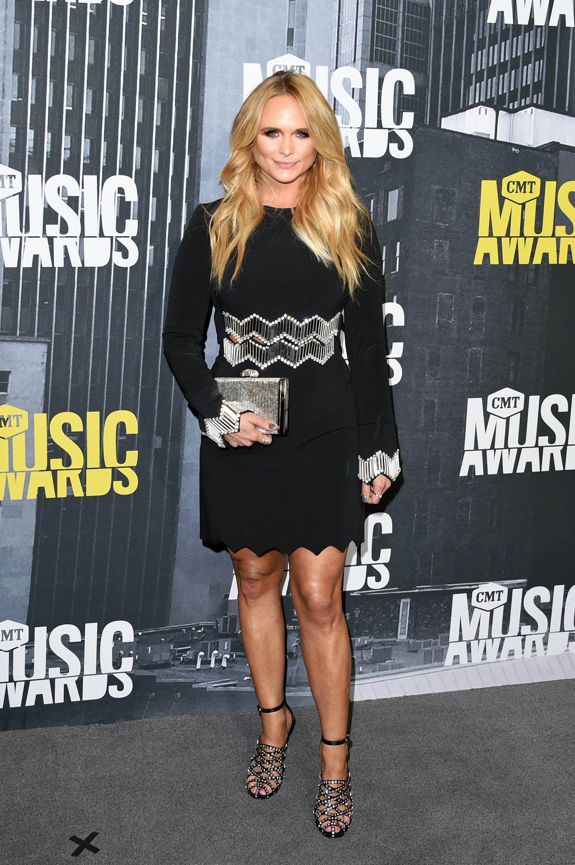 NASHVILLE, TN - JUNE 07: Singer-songwriter Miranda Lambert attends the 2017 CMT Music Awards at the Music City Center on June 7, 2017 in Nashville, Tennessee. (Photo by J. Merritt/FilmMagic)