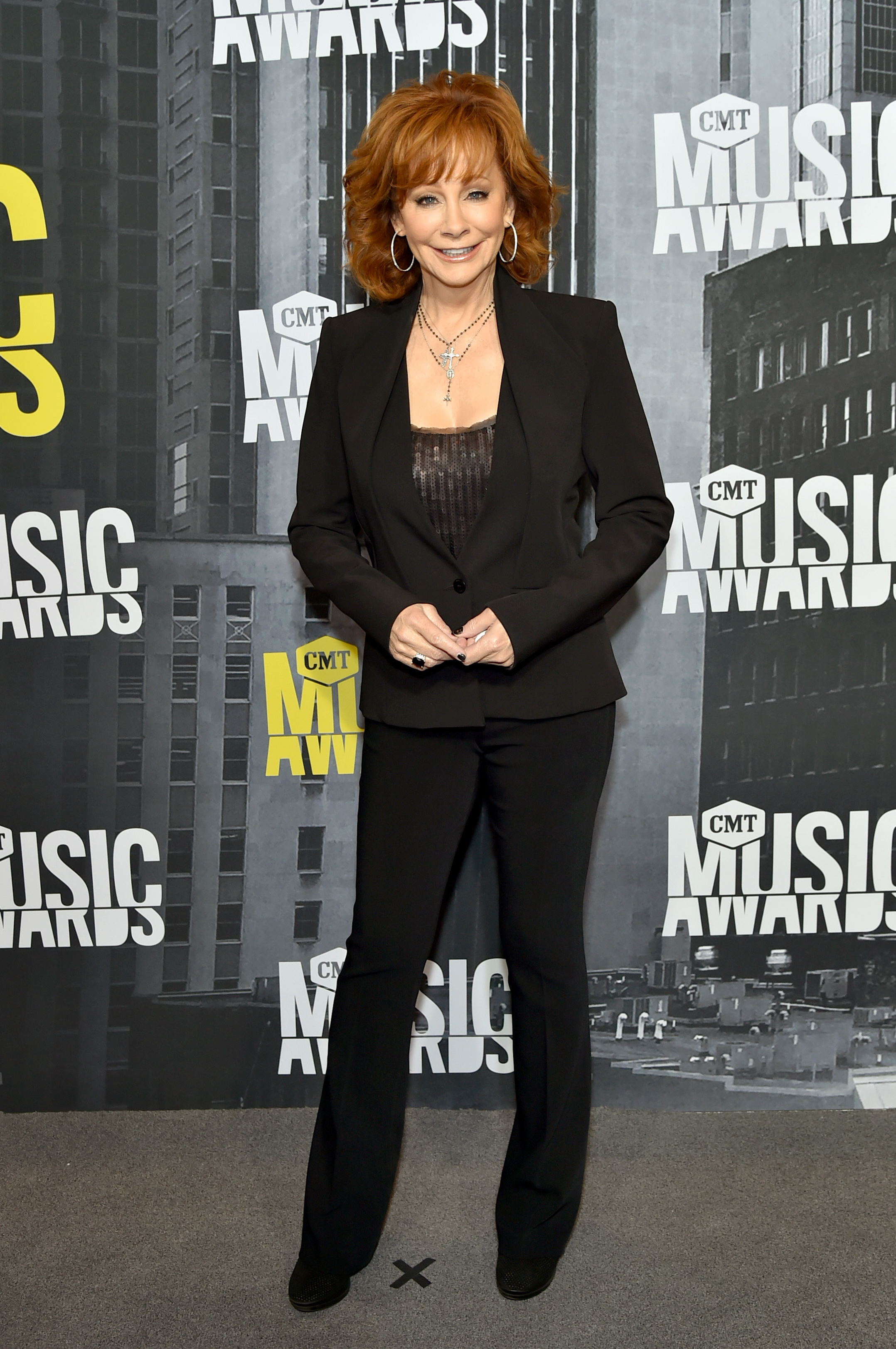 NASHVILLE, TN - JUNE 07: Singer-songwriter Reba McEntire attends the 2017 CMT Music Awards at the Music City Center on June 7, 2017 in Nashville, Tennessee. (Photo by Mike Coppola/WireImage)