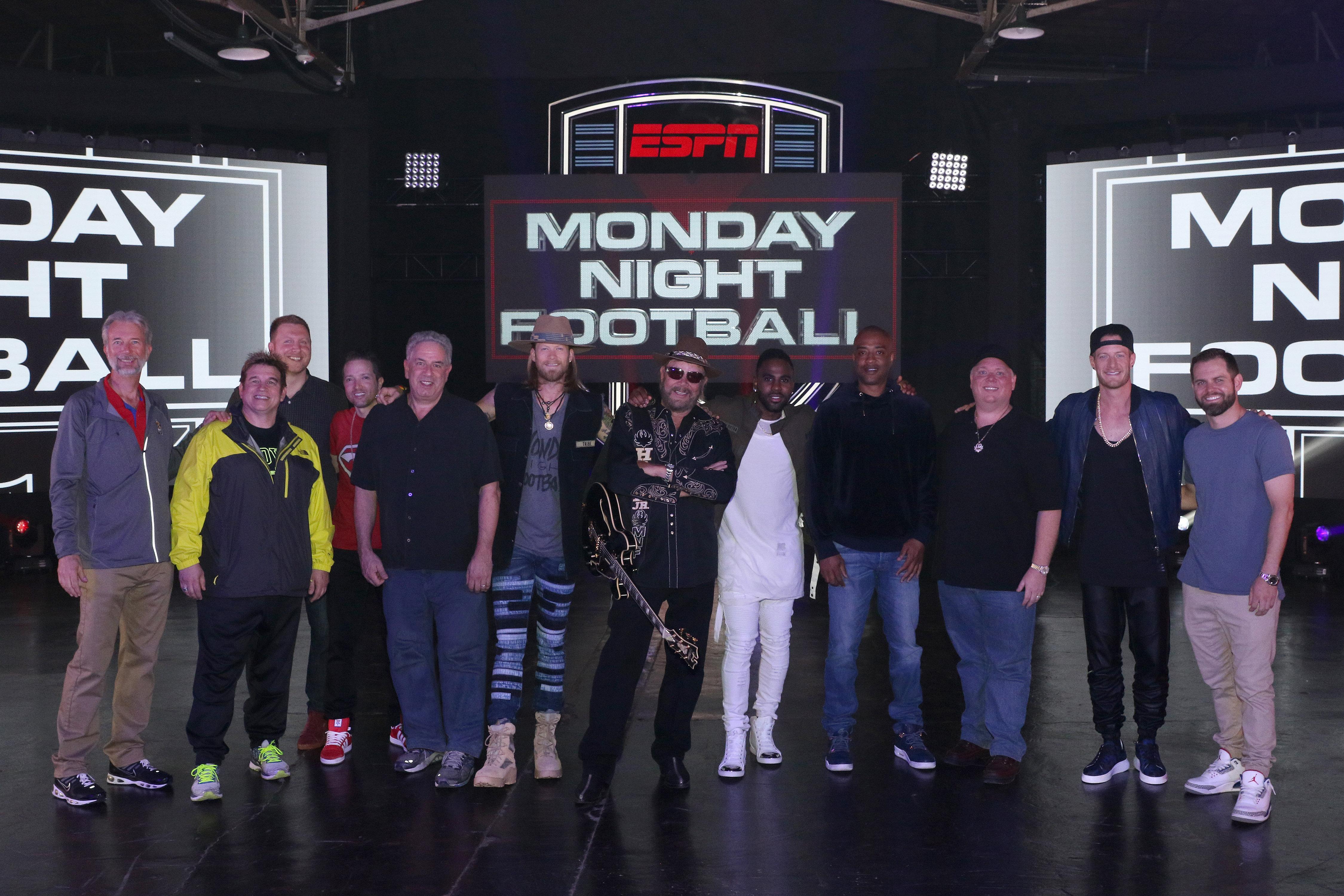 Florida Georgia Line, Jason Derulo to Join Hank Williams Jr. on Monday Night Football