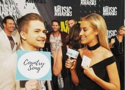 Brooke Eden Plays 'Country Wrong or Country Song' with Stars on CMT Music Awards Carpet
