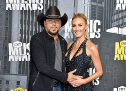 Jason Aldean and Wife Brittany Show Off Baby Bump as 'Good Luck Charm'