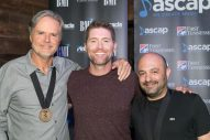 Josh Turner Celebrates No.1 'Hometown Girl' With Songwriters in Nashville