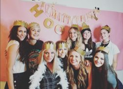 Kelsea Ballerini Throws Glam Girls' Night In
