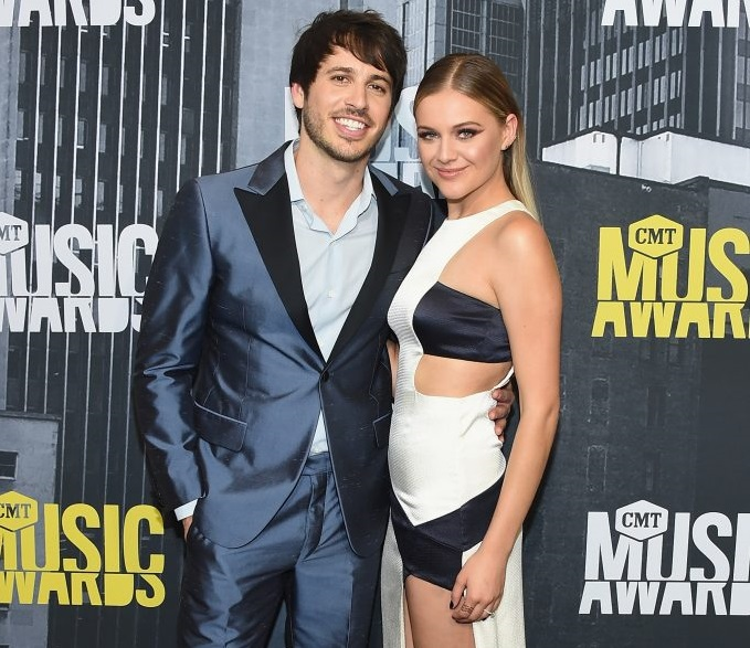 Kelsea Ballerini & Morgan Evans; Photo by Michael Loccisano/Getty Images For CMT