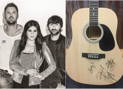 WIN A Guitar Signed by Lady Antebellum + A Signed 'Heart Break' CD