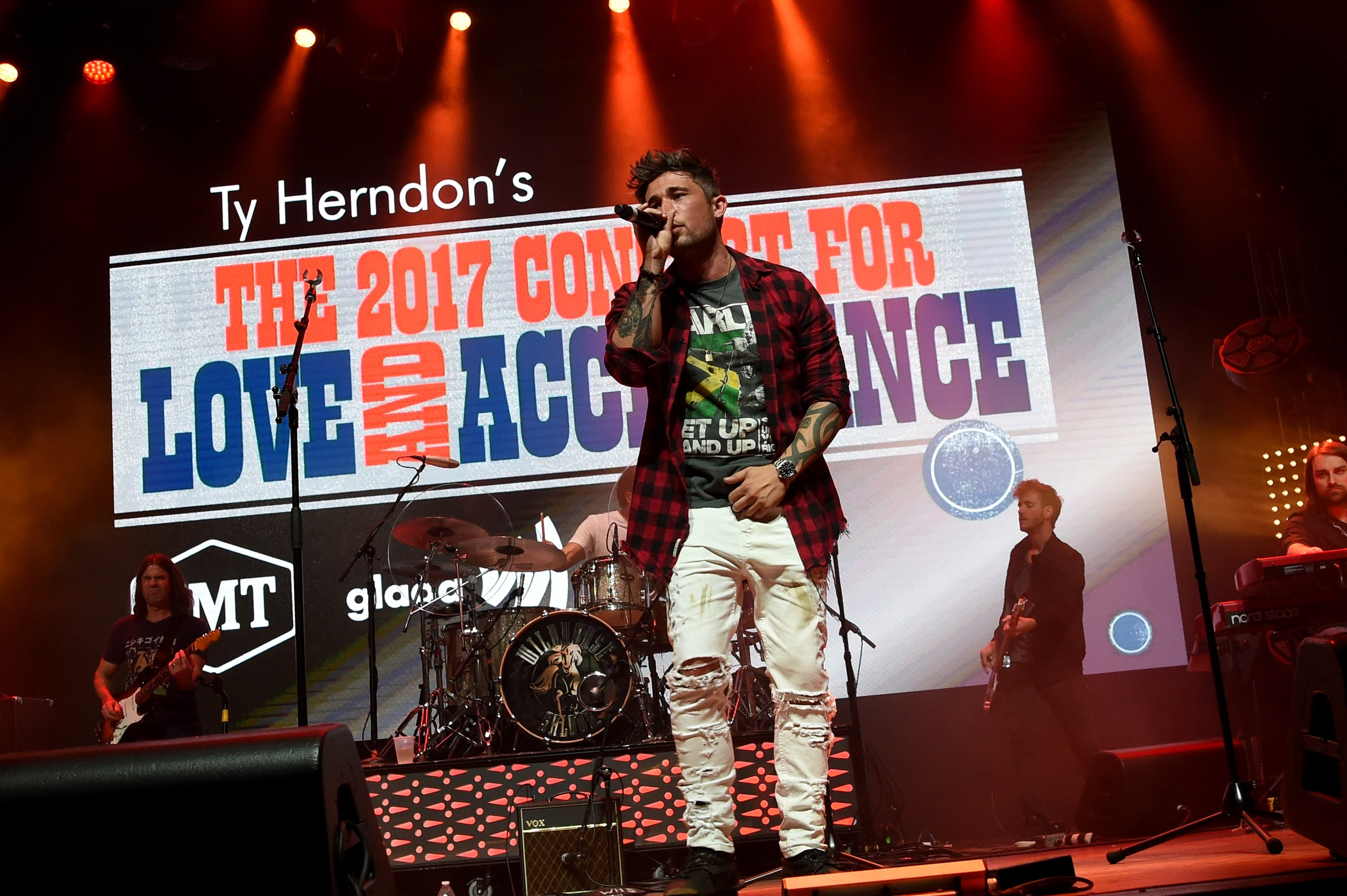 Michael Ray; Photo by Rick Diamond/Getty Images for Love & Acceptance