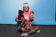 Miranda Lambert Has Pawsitively Adorable Interview While Playing With Puppies