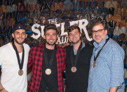 Michael Ray Celebrates No. 1 Hit 'Think A Little Less'