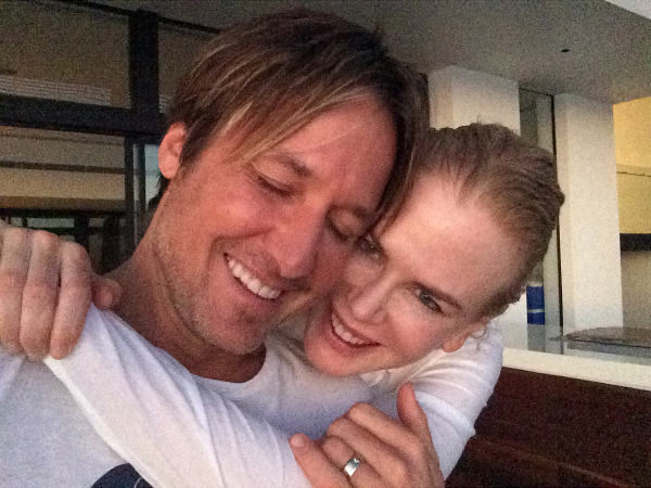 Keith Urban writes touching message to Nicole Kidman on anniversary