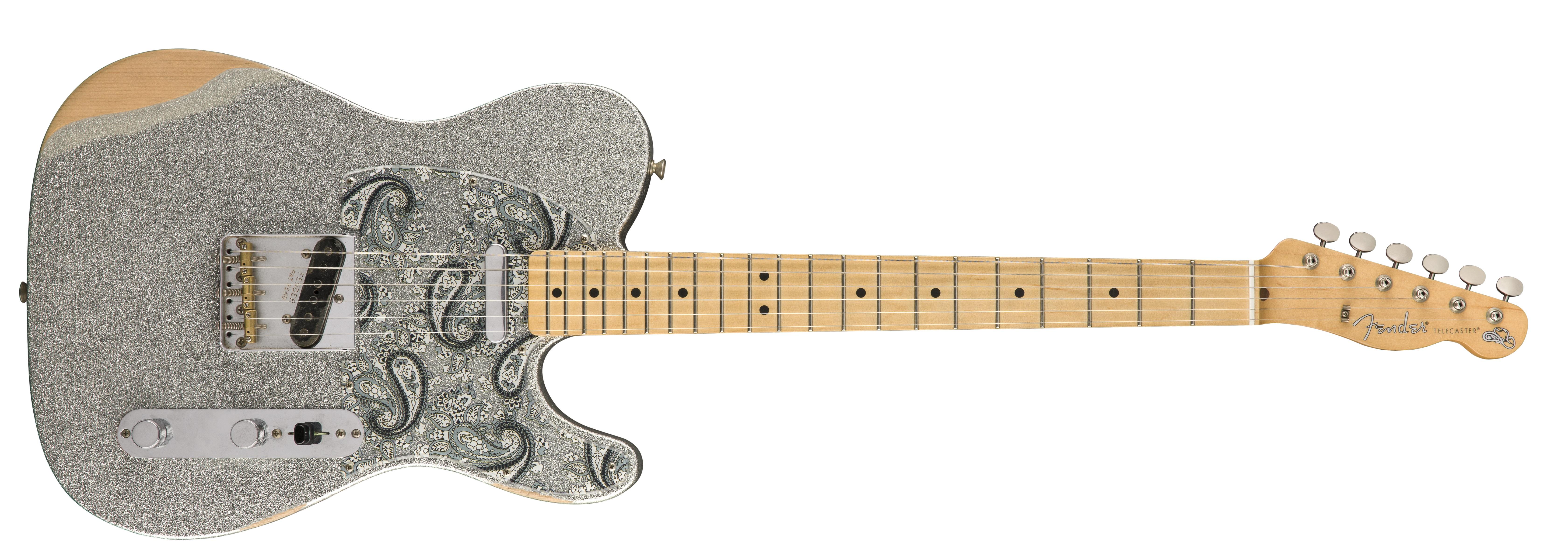 Brad Paisley Road Worn® Telecaster®; Photo courtesy Bieber Public Relations/Fender PR