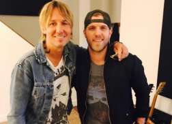 Brandon Ray Connected With Keith Urban in the Studio