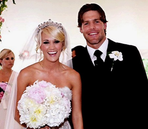 Seven times carrie underwood and mike fisher defined for Carrie underwood husband mike fisher