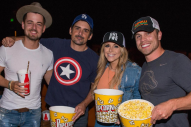 Brad Paisley Rents Out Movie Theater for Tourmates