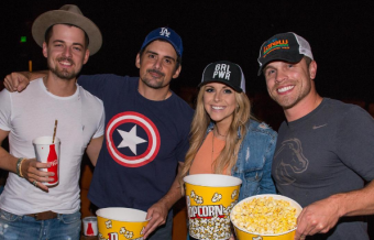 Brad Paisley Tour Goes to the Movies