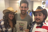 Jake Owen Surprises Newly Engaged Couple With Caricature Meet-and-Greet