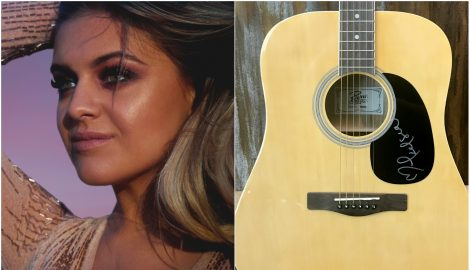 WIN a Guitar Autographed by Kelsea Ballerini