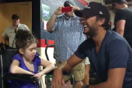 Luke Bryan Grants Cleveland Girl's Special Wish