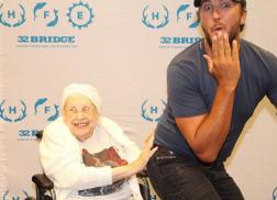 Luke Bryan Breaks His No Butt Grabbing Rule for 88-Year Old Terminally Ill Fan