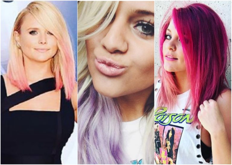 Pretty in Pink (and Purple!): Country Stars Who Have Experimented with Hair Color