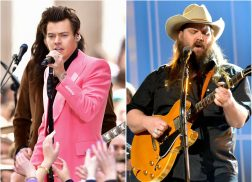 Harry Styles Hints at Wanting to Collaborate with Chris Stapleton