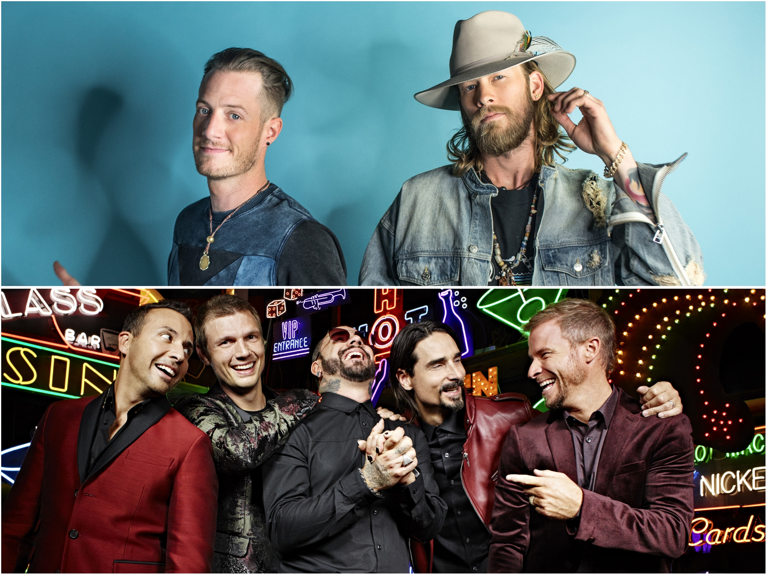 Florida Georgia Line and Backstreet Boys Team up Again for 'CMT Crossroads'