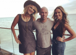 Runaway June's Jennifer Wayne and Naomi Cooke Enjoy the 'Malibu Life' with Kenny Chesney