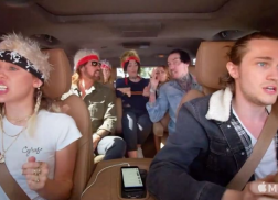 Billy Ray Cyrus, Miley Cyrus & Family Sing 'Achy Breaky Heart' in Carpool Karaoke Trailer