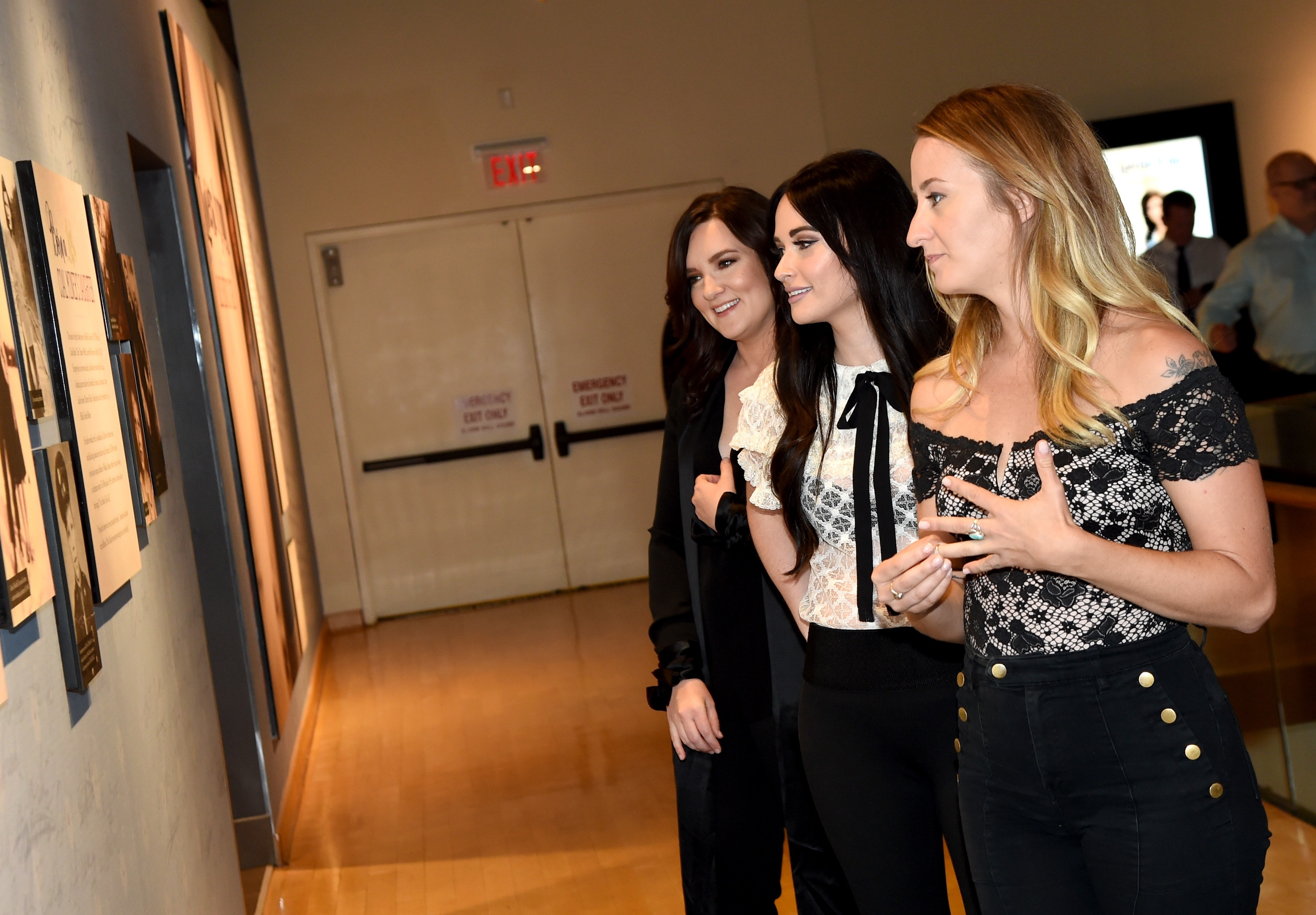 Pictured L-R: Brandy Clark, Kacey Musgraves, and Margo Price; Photo by Rick Diamond/Getty Images for Country Music Hall Of Fame & Museum