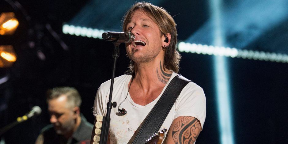 Keith Urban Books Second Consecutive Headlining Show at Nashville's New Year's Eve Celebration
