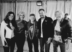 Little Big Town's Jimi Westbrook Found Himself Tongue-Tied When Meeting Willie Nelson
