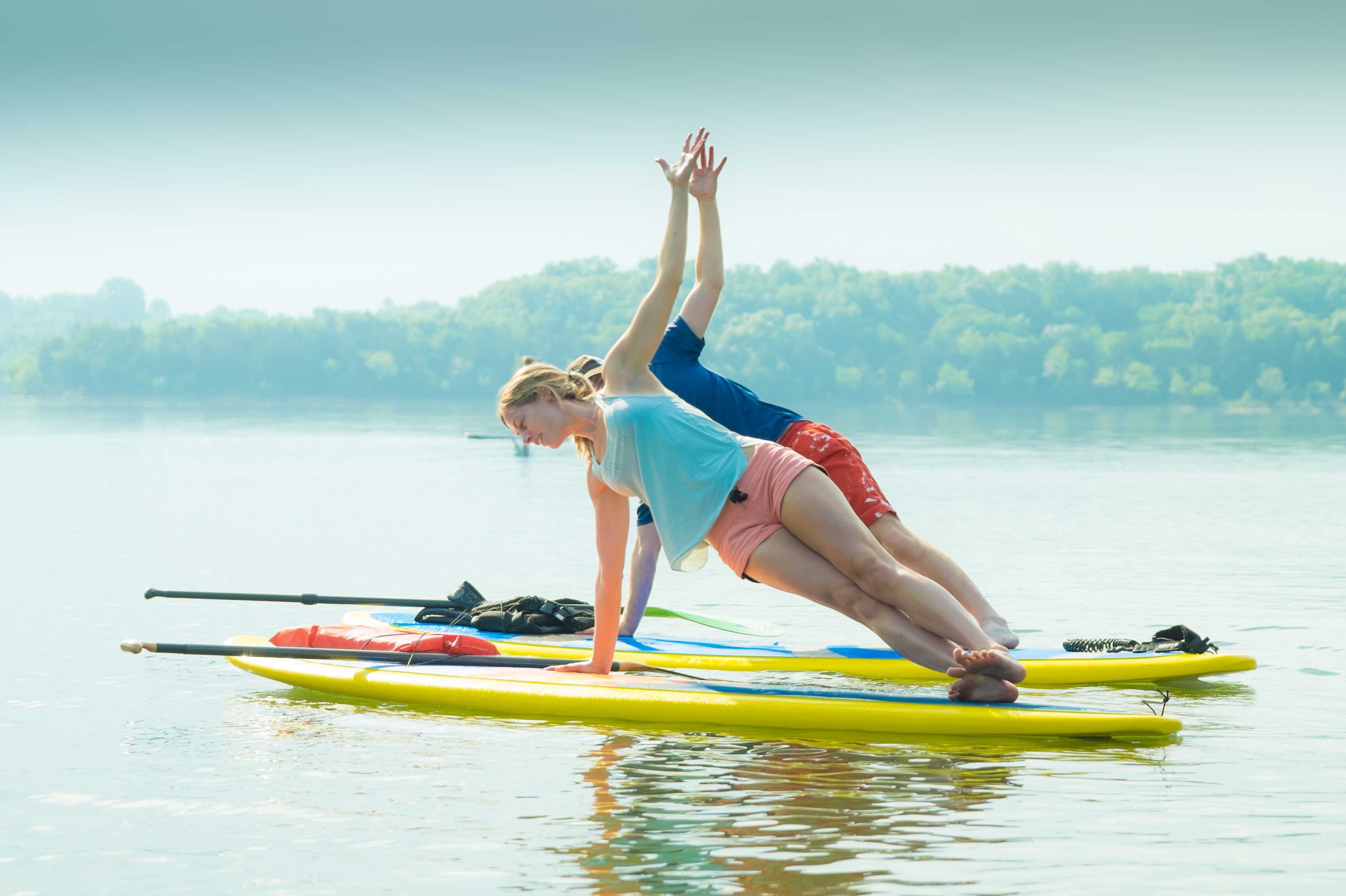 KB in the City: SUP Yoga