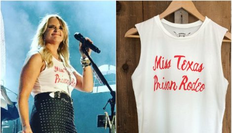Get The Look: Miranda Lambert's Miss Texas Prison Rodeo Tank
