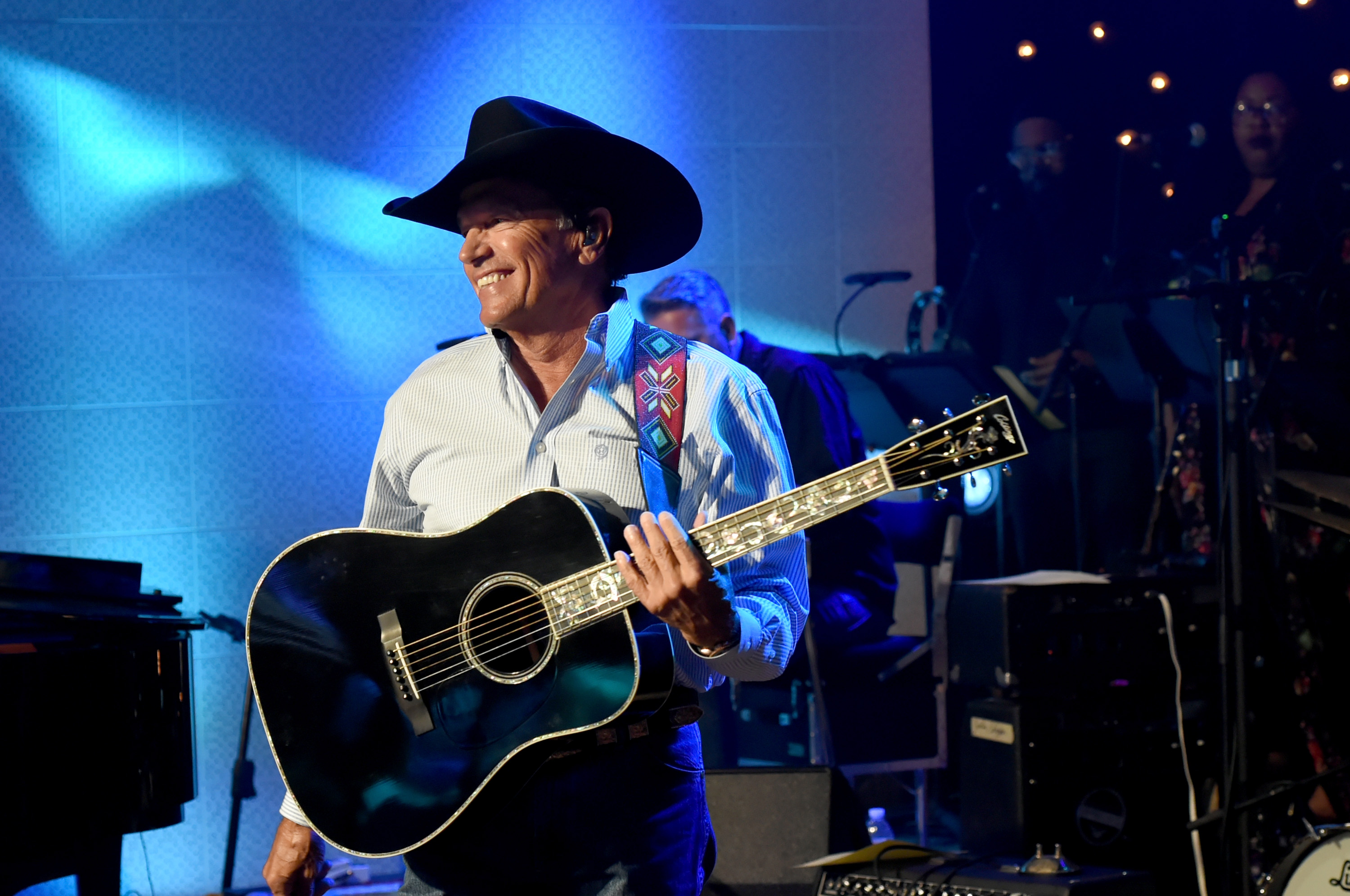 George Strait; Photo by Rick Diamond/Getty Images for Skyville