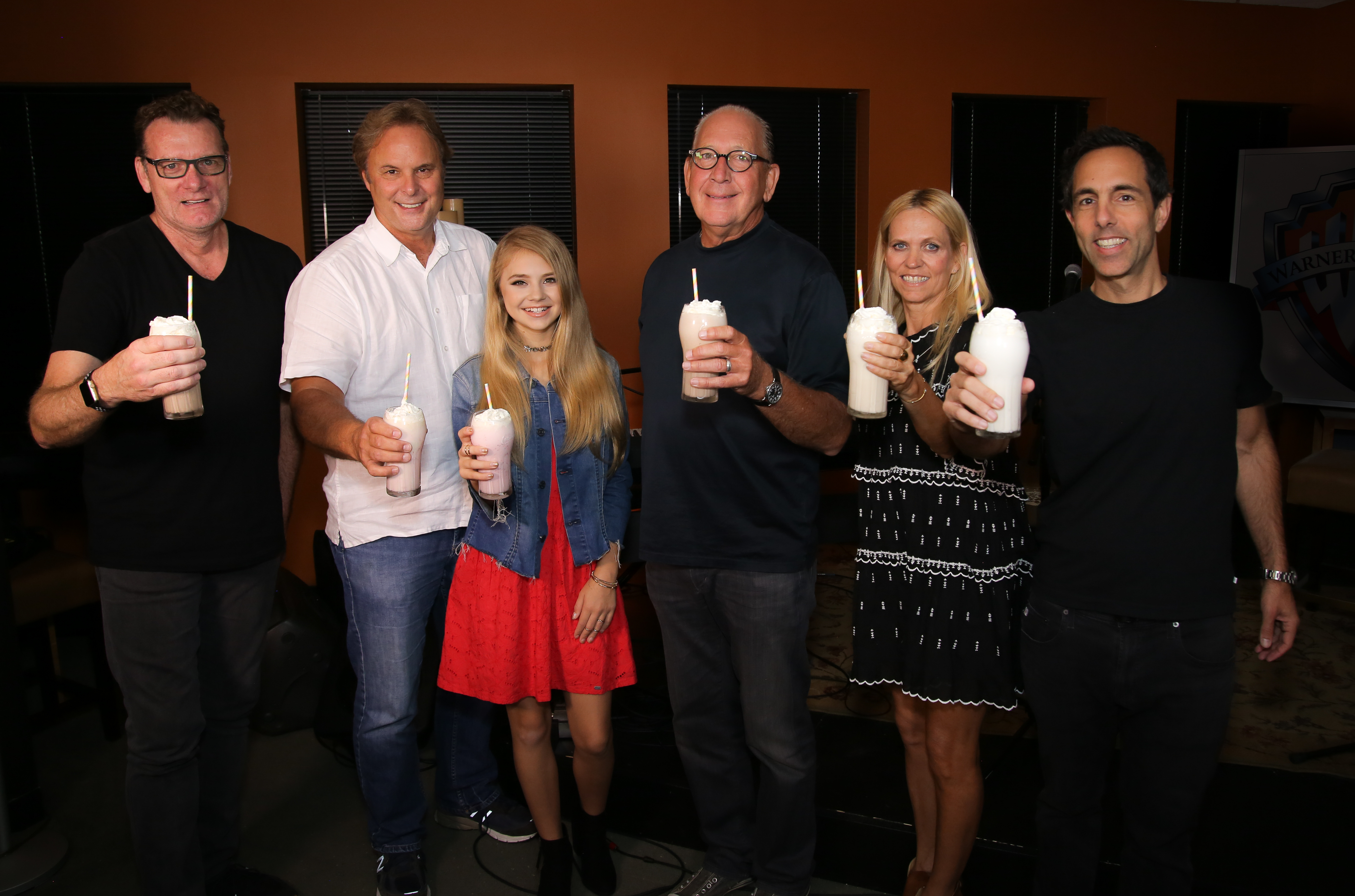 Pictured (L-R): Peter Strickland (CMO, WMN), Scott Hendricks (EVP A&R, WMN), Tegan Marie, John Esposito (Chairman and CEO, WMN), Veronica Zelle (Co-Founder and CCO, Sweety High), Frank Simonetti (Co-Founder and CEO, Sweety High); Photo Credit: Sweety High