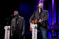 Blake Shelton and Usher Join Forces For Duet During 'Hand in Hand' Benefit